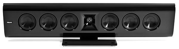 klipsch gallery g 28. the klipsch gallery is one fine-looking line of speakers. their black injection-molded polymer enclosures feature a 12-step finish that gives them glossy g 28 -