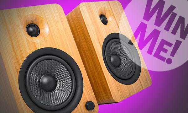 SoundandVision.com Kanto YU6 Bamboo Powered Speakers Sweepstakes