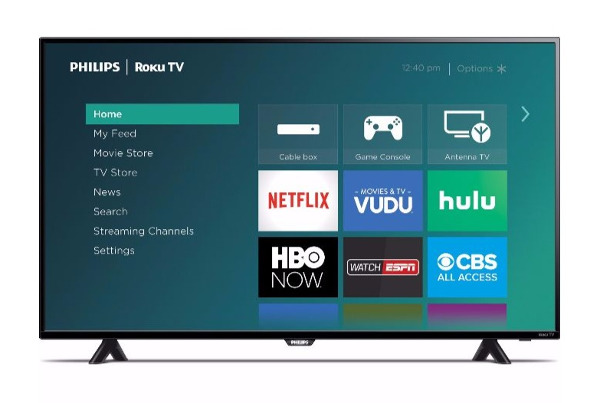 Philips Announces Low-Priced Roku HDTVs