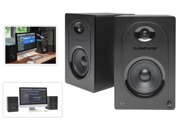 Samson Introduces $120 Desktop Speaker System