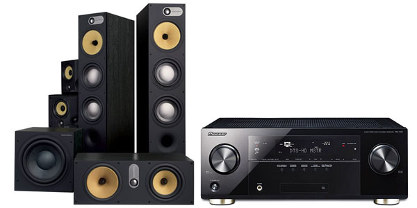 Pioneer Avr With B Amp W Speakers Sound Amp Vision