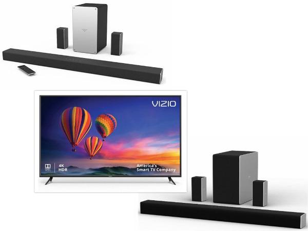 Vizio Announces Last-Minute Deals on TVs, Soundbars