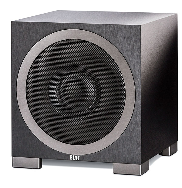 Elac S10eq 500 Reviewed As Part Of The Debut F5 System Is A Rather Conventional Looking Sub With Secret Weapon It S Brainchild