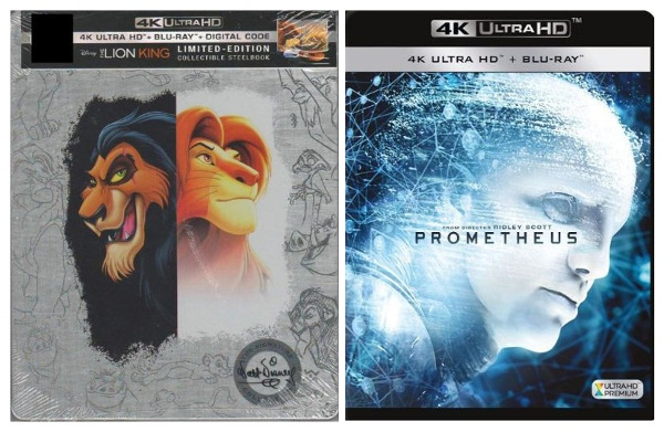 Double Feature: The Lion King (1994) and Prometheus (2012)