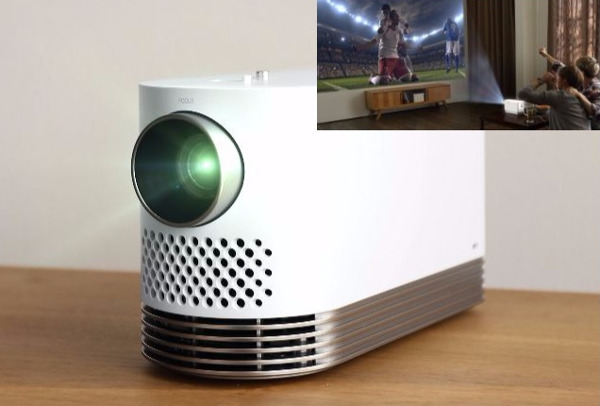 Lg to unveil portable laser projector at ces sound vision for Best portable laser projector