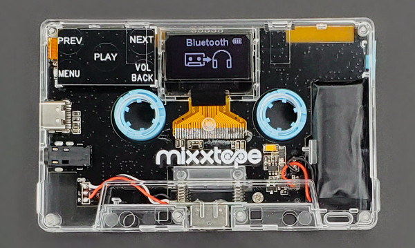 Mixxim Brings Back the Cassette… As a Music Player