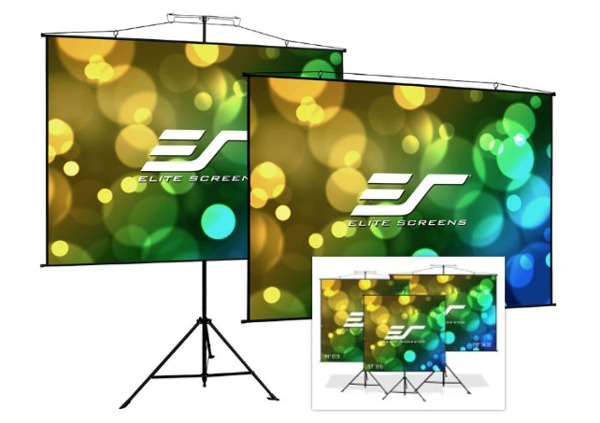 Elite Unveils '2-in-1' Portable Projection Screen
