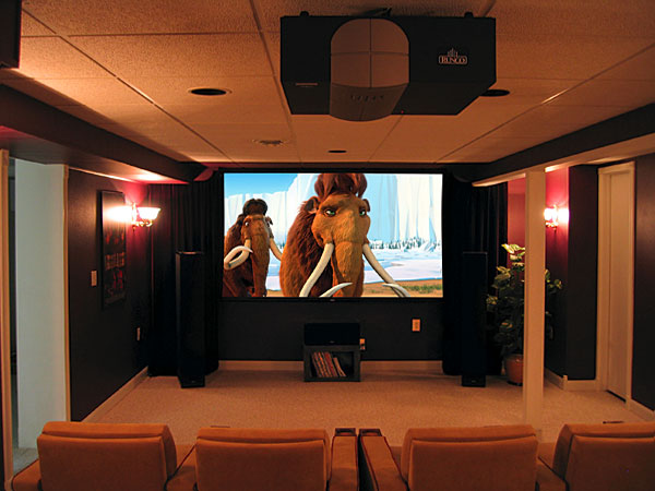 Room With Nothing In It: DIY Reader Home Theater: Something From Nothing
