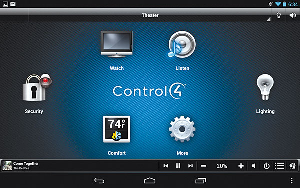 control4 ea 1 home automation system review page 2 sound vision. Black Bedroom Furniture Sets. Home Design Ideas