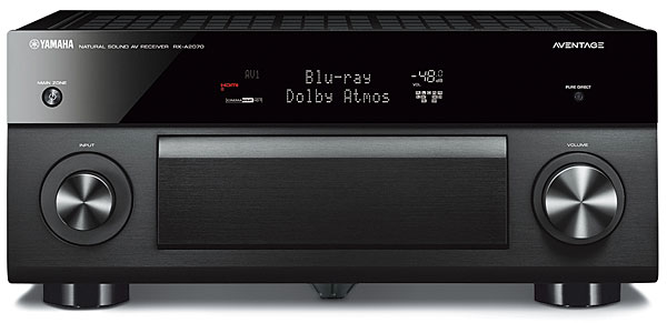 Yamaha Aventage RX-A2070 A/V Receiver Review