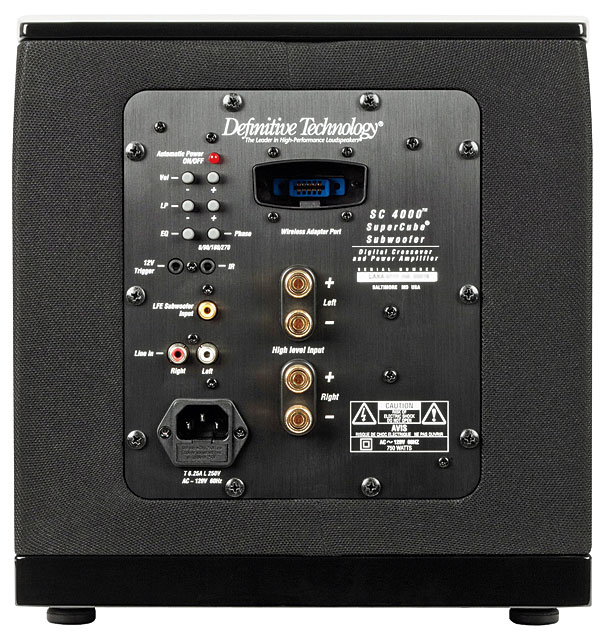 definitive technology subwoofer. definitive technology supercube 4000 subwoofer sound \u0026 vision
