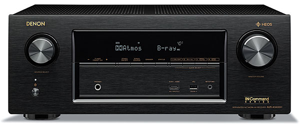 Denon AVR-X3400H A/V Receiver Review