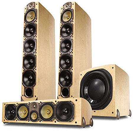 Paradigm Reference Signature Speaker System Sound Amp Vision