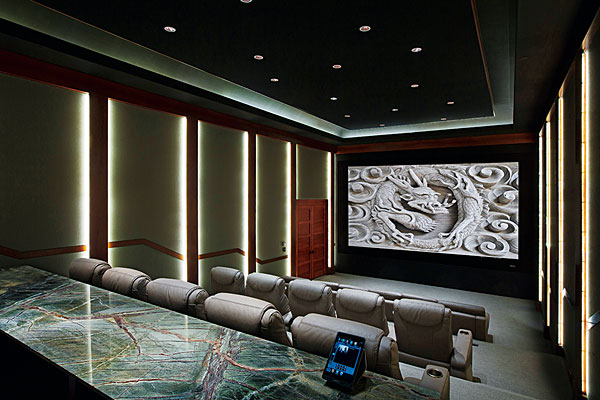 Two Award-Winning Home Theaters | Sound & Vision