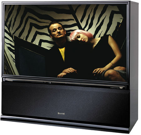 Pioneer elite pro 730hd rear projection crt tv sound for Miroir 50in projector review