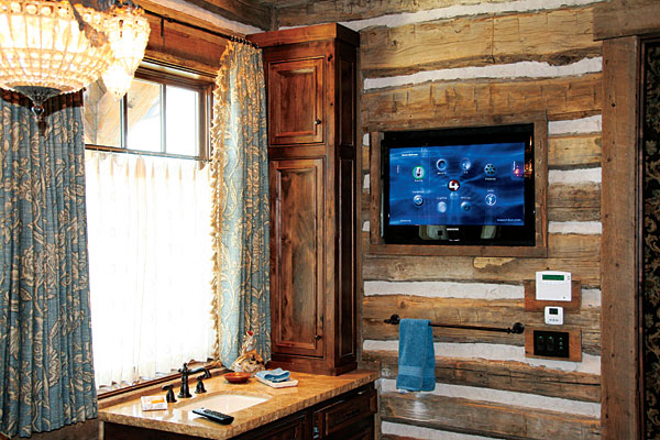 Control4 home theater and home automation system part 2 for Home automation shower