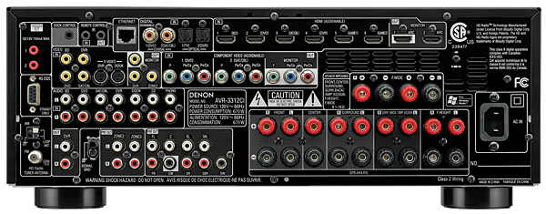 Denon AVR-3312CI A/V Receiver | Sound & Vision