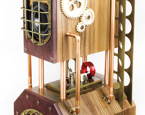All Aboard: James Loudspeaker Steampunk Speaker