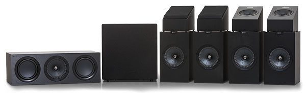 KEF Q Series Q350 Speaker System Review