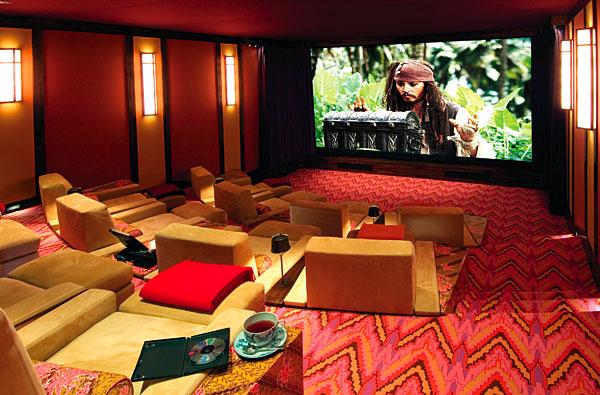 professional digital cinema at home   sound & vision