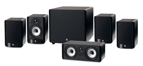 Boston Acoustics A 25 Speaker System Sound Amp Vision