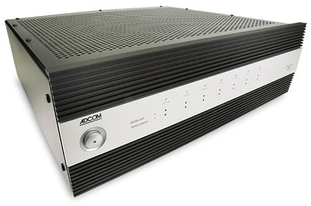 Adcom GTP-880 preamp-processor & GFA-7607 multichannel power