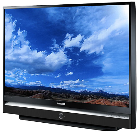 Samsung hl s5686w 56 dlp rear projection 720p hdtv sound vision sciox Choice Image