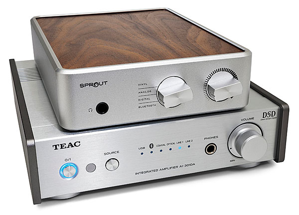 Ps Audio Sprout And Teac Ai 301da Integrated Ampdacs