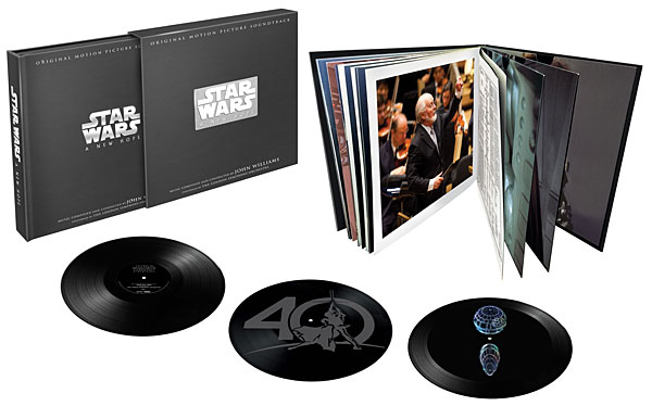 Star Wars: A New Hope - 40th Anniversary 3LP Collector's Edition