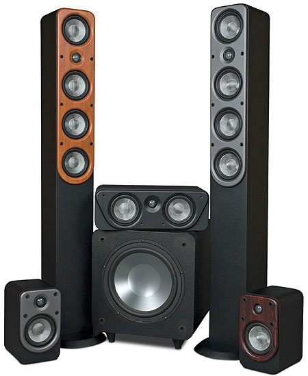 Emp htp 551t speaker system sound vision publicscrutiny Choice Image
