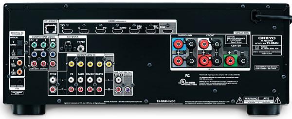 Onkyo Tx Nr414 A V Receiver Sound Amp Vision