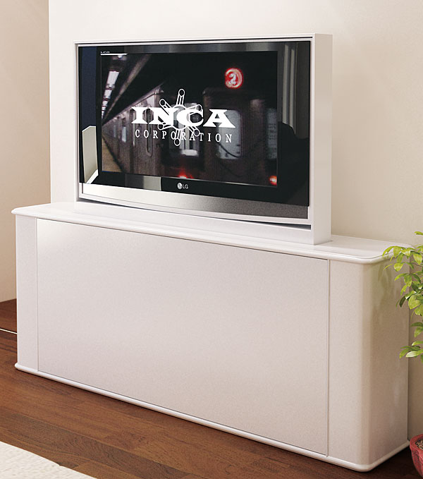 Inca Tv Lift Remote Hidden Tv Lifts The Home Of Motorised