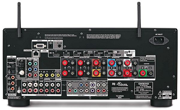 Onkyo TX-NR838 AV Receiver | Sound & Vision