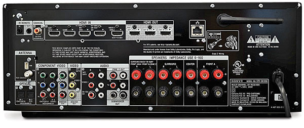 Sony Str Dn1050 Av Receiver Sound Amp Vision