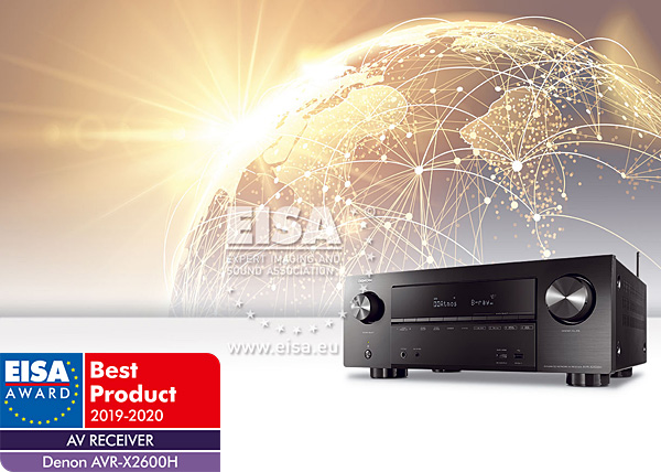 Best Receiver 2020.Eisa 2019 2020 Home Theater Video Audio Products Of The