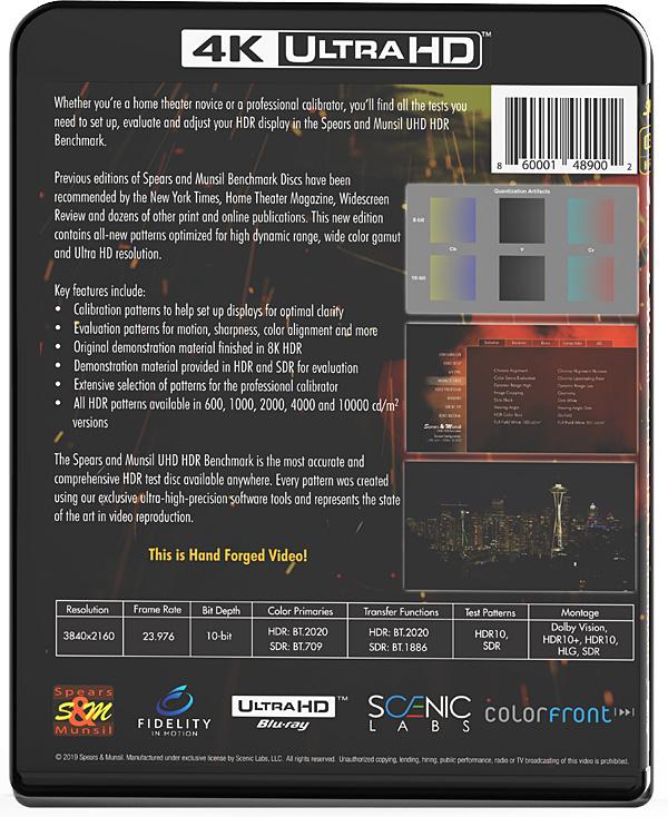 Spears & Munsil UHD HDR Benchmark Test Disc | Sound & Vision