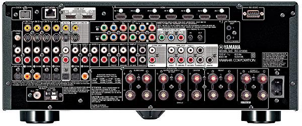 Yamaha aventage rx a1000 a v receiver sound vision for Yamaha aventage rx a3000