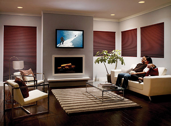 Lutron sivoia motorized shade system sound vision for Lutron motorized blinds cost