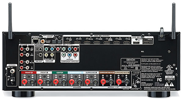 Denon AVR-S900W AV Receiver | Sound & Vision