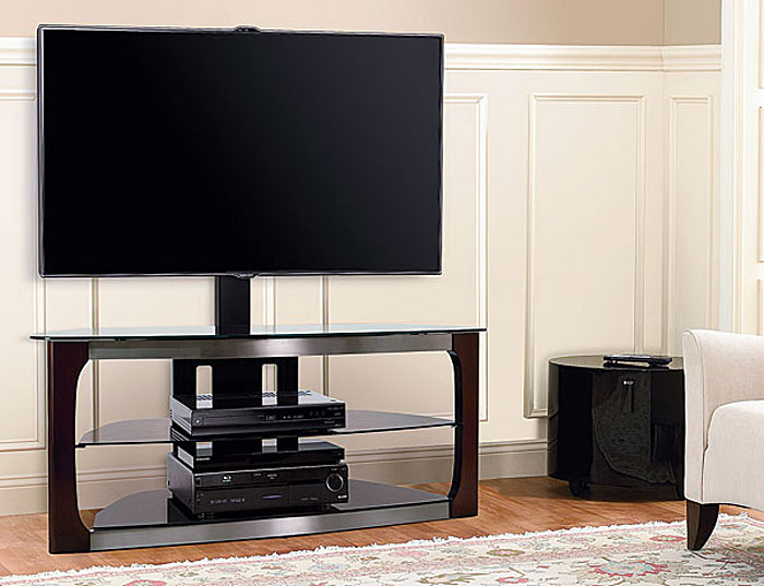 Bellu0027O Triple Play TCP2133: $400. The Bellu0027O Triple Play TCP2133 Is A  Stand/shelf Combo That Provides Three Configuration Options To Fit Your  Display And ...