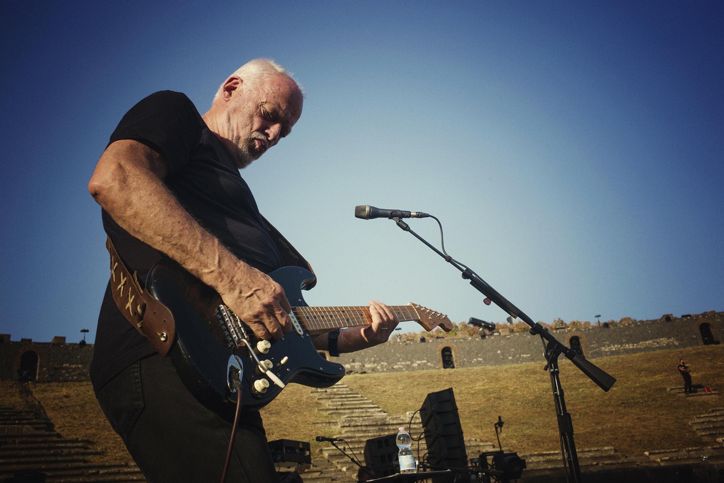 Gavin Elder on Filming David Gilmour's Live Return to Pompeii