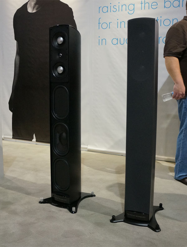 definitive technology tower speakers. definitive technology launches mythos st-l tower speaker | sound \u0026 vision speakers