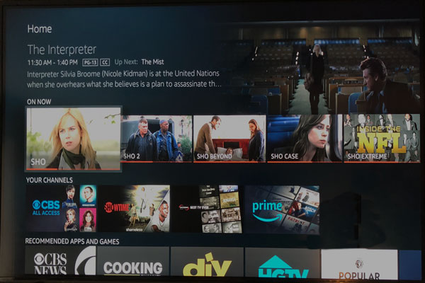 Hands On: New Amazon Fire TV with Amazon Channels