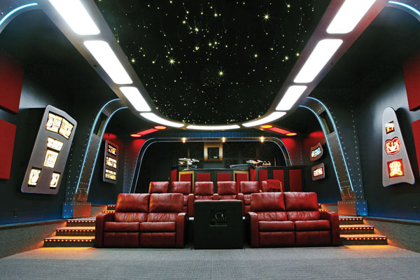 Home theater design specifications