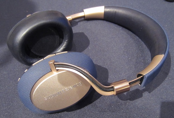 Bowers & Wilkins Shows Its First Noise-Canceling Headphone