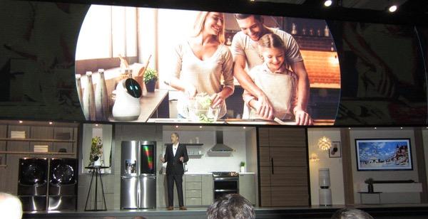 LG Showcases a Range of New TV Technologies