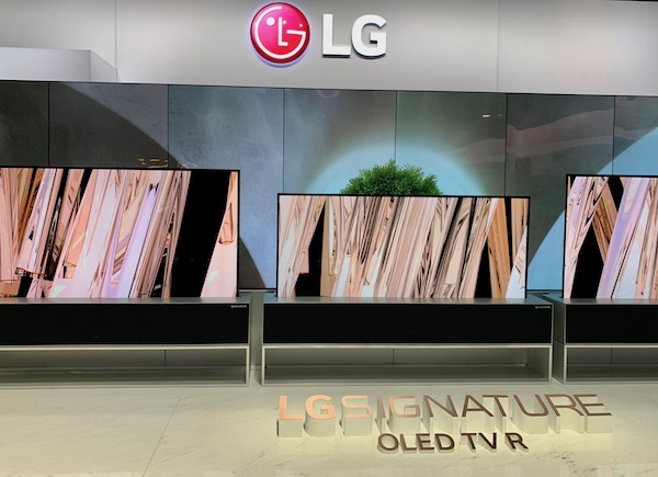 LG's Rollup OLED TVs Take Center Stage at CES