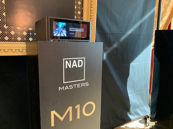 NAD's M10 Amplifier Masters Music Streaming
