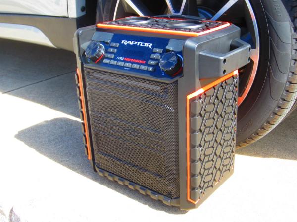 Ion Raptor Portable Bluetooth Speaker, When Size Matters
