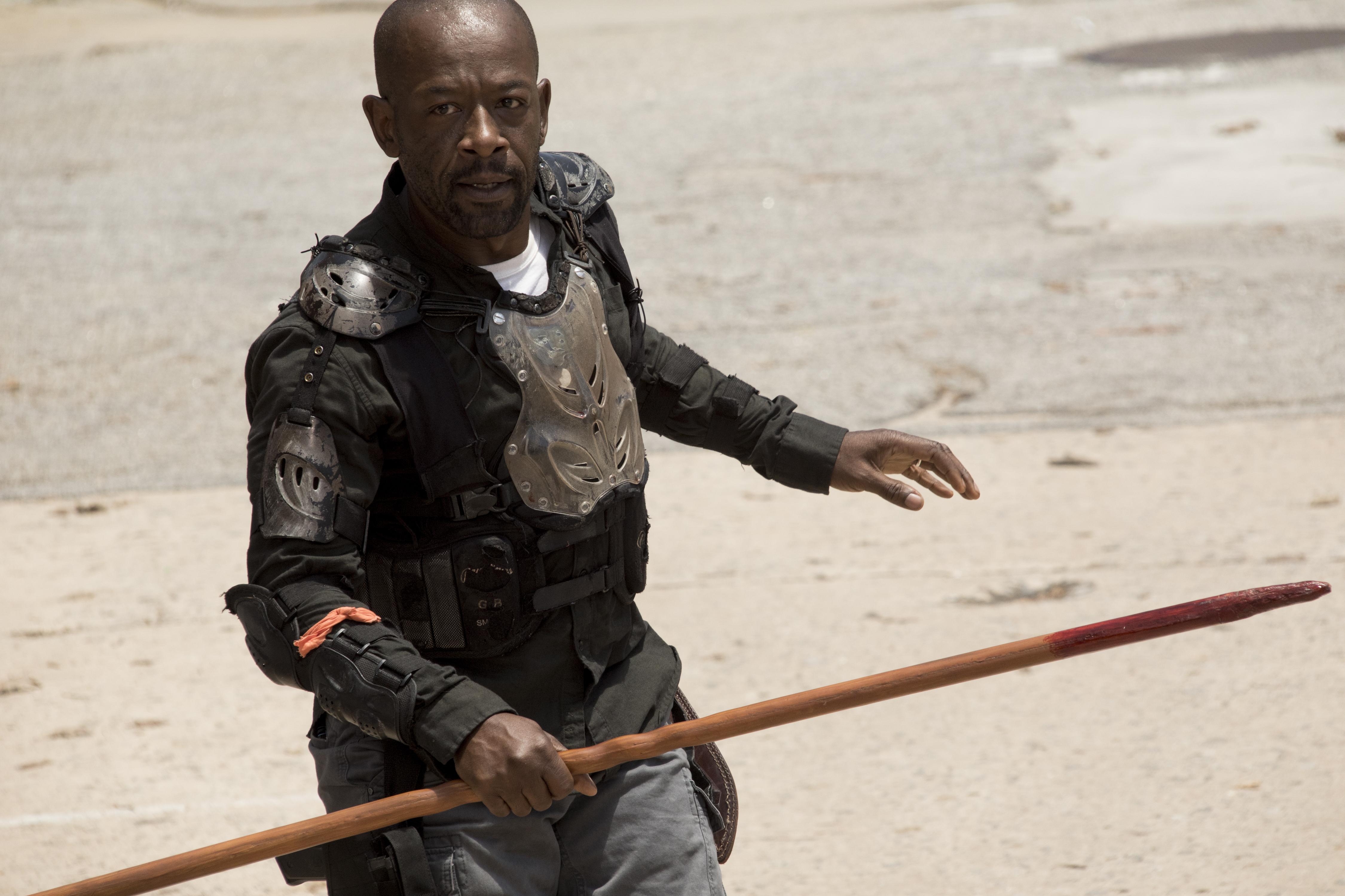 Lennie James, Morgan Jones on The Walking Dead